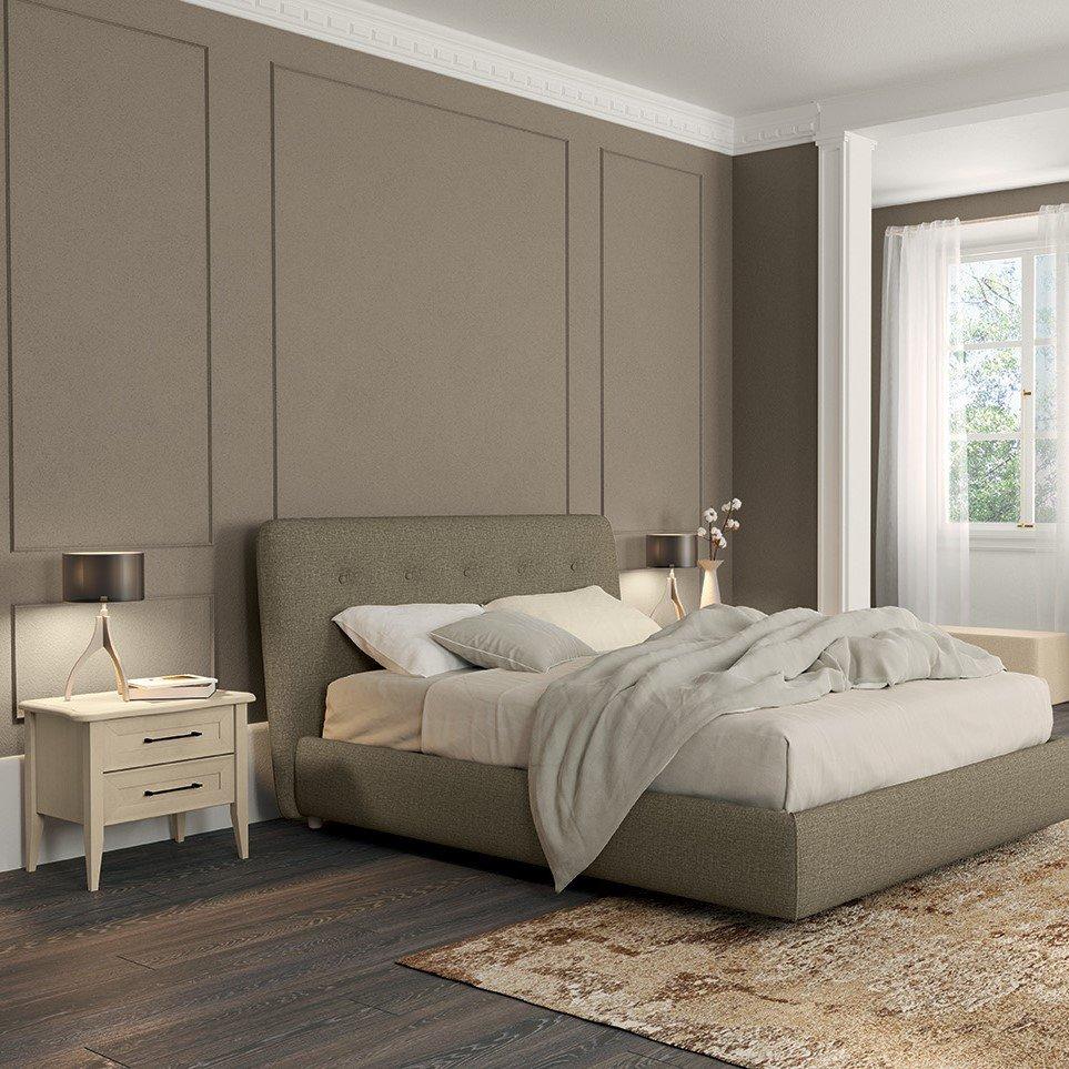 camera-matrimoniale-in-stile-classico-letto-imbottito-AM203
