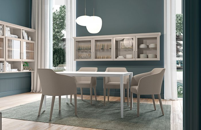 mobile-soggiorno-Electa-stile-classico-beige-canapa