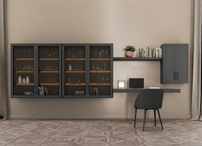 mobile-soggiorno-con-vetrina-Electa-grigio-titanio